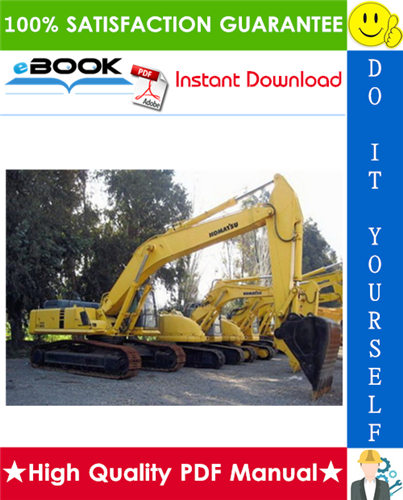 Thumbnail ☆☆ Best ☆☆ Komatsu PC400LC-6, PC400HD-6 Hydraulic Excavator Service Repair Manual + Operation & Maintenance Manual (Serial Number: A80001 and UP)