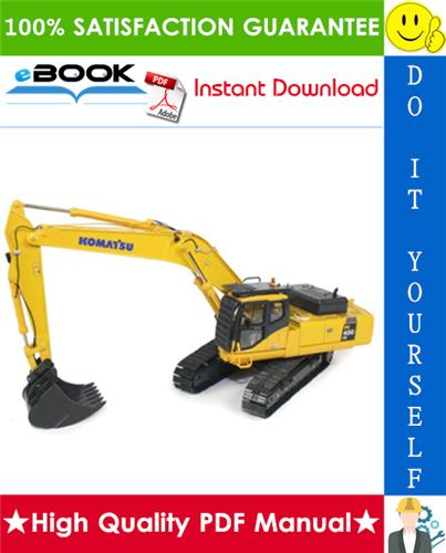 Thumbnail ☆☆ Best ☆☆ Komatsu PC400LC-6LK, PC400HD-6LK Hydraulic Excavator Service Repair Manual + Operation & Maintenance Manual (Serial Number: A83001 and up)