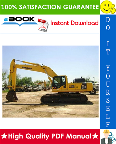 Thumbnail ☆☆ Best ☆☆ Komatsu PC400LC-6LM, PC400HD-6LM Hydraulic Excavator Service Repair Manual + Operation & Maintenance Manual (Serial Number: A85001 and UP)