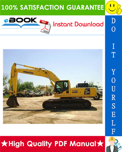 Thumbnail ☆☆ Best ☆☆ Komatsu PC400LC-7E0 Hydraulic Excavator Service Repair Manual + Operation & Maintenance Manual (Serial Number: A87001 and up)