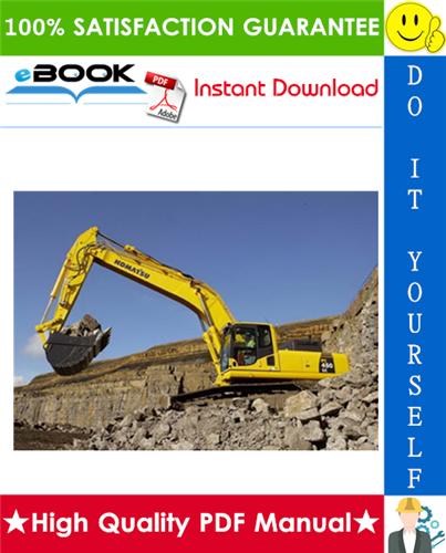 Thumbnail ☆☆ Best ☆☆ Komatsu PC450-6K, PC450LC-6K Hydraulic Excavator Service Repair Manual + Operation & Maintenance Manual