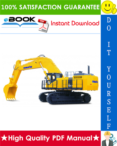Thumbnail ☆☆ Best ☆☆ Komatsu PC1250-7, PC1250SP-7, PC1250LC-7 Hydraulic Excavator Service Repair Manual + Field Assembly Manual + Operation & Maintenance Manual (Serial Number: 20001