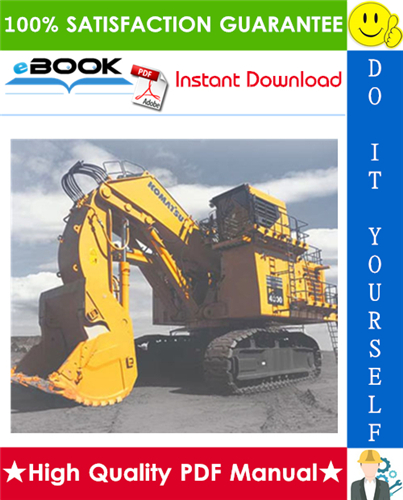 Thumbnail ☆☆ Best ☆☆ Komatsu PC4000-6 Hydraulic Mining Shovel Service Repair Manual + Operation & Maintenance Manual