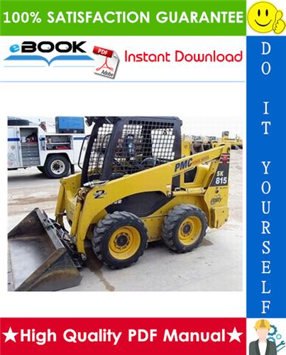 Thumbnail ☆☆ Best ☆☆ Komatsu SK815-5N, SK815-5NA Skid Steer Loader Service Repair Manual + Operation & Maintenance Manual