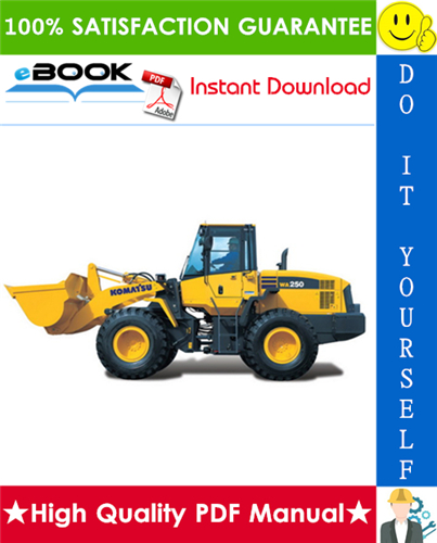 Thumbnail ☆☆ Best ☆☆ Komatsu WA250-3 Parallel Tool Carrier Service Repair Manual + Operation & Maintenance Manual (Serial Number: A75001 and up)