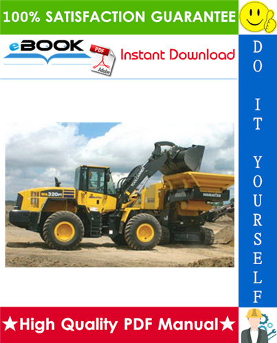 Thumbnail ☆☆ Best ☆☆ Komatsu WA320PT-5L Parallel Tool Carrier Service Repair Manual + Operation & Maintenance Manual (Serial Number: A39001 and UP)