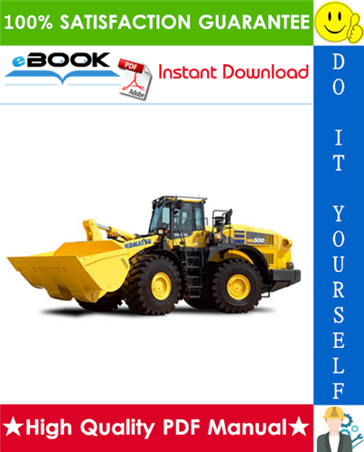 Thumbnail ☆☆ Best ☆☆ Komatsu WA500-3LE Wheel Loader Service Repair Manual + Operation & Maintenance Manual (Serial Number: A70001 and up)