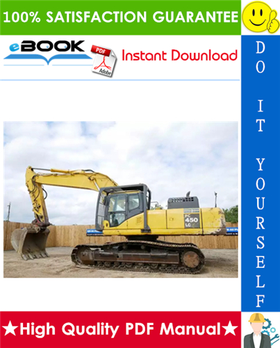 Thumbnail ☆☆ Best ☆☆ Komatsu PC450-6, PC450LC-6 Hydraulic Excavator Service Repair Manual + Operation & Maintenance Manual (Serial Number: 12144 and up)