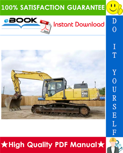 Thumbnail ☆☆ Best ☆☆ Komatsu PC450LC-8 Hydraulic Excavator Service Repair Manual + Operation & Maintenance Manual (Serial Number: A10001 and up)