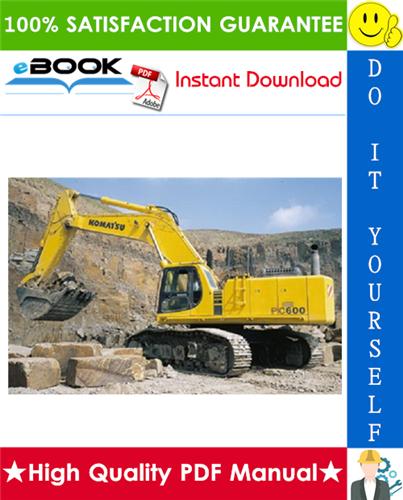 Thumbnail ☆☆ Best ☆☆ Komatsu PC600-8E0, PC600LC-8E0, PC650-8E0, PC650LC-8E0, PC700LC-8E0 Hydraulic Excavator Service Repair Manual + Operation & Maintenance Manual + Field Assembly I