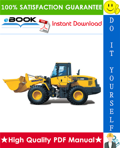 Thumbnail ☆☆ Best ☆☆ Komatsu WA250-5H, WA250PT-5H Wheel Loader Service Repair Manual + Operation & Maintenance Manual