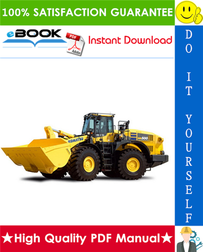 Thumbnail ☆☆ Best ☆☆ Komatsu WA500-3H Wheel Loader Service Repair Manual + Operation & Maintenance Manual (Serial Number: WA500H20051 and up)