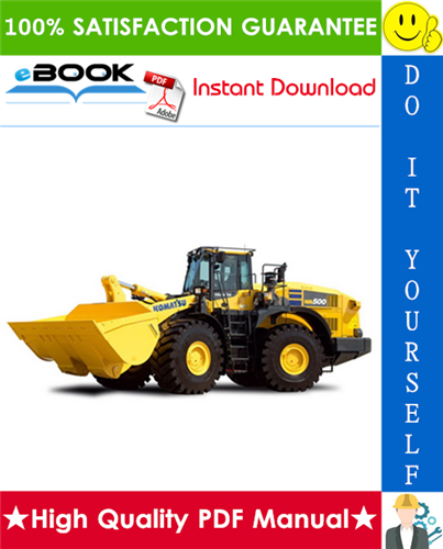 Thumbnail ☆☆ Best ☆☆ Komatsu WA500-7 Wheel Loader Service Repair Manual + Operation & Maintenance Manual (Serial Number: A94001 and up)