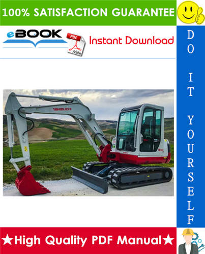 Thumbnail ☆☆ Best ☆☆ Takeuchi TB145 Compact Excavator Parts Manual