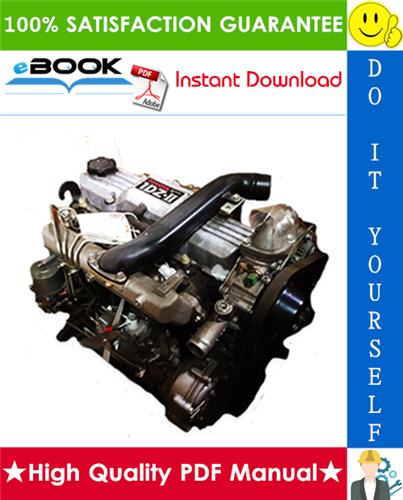 Thumbnail ☆☆ Best ☆☆ Toyota Forklift Trucks 1DZ-II Model Engine Equipped Service Repair Manual