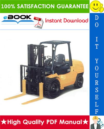 Thumbnail ☆☆ Best ☆☆ Toyota 02-7FD35, 02-7FD40, 02-7FD45, 02-7FDK40, 02-7FDA50 Forklift Trucks Parts Manual