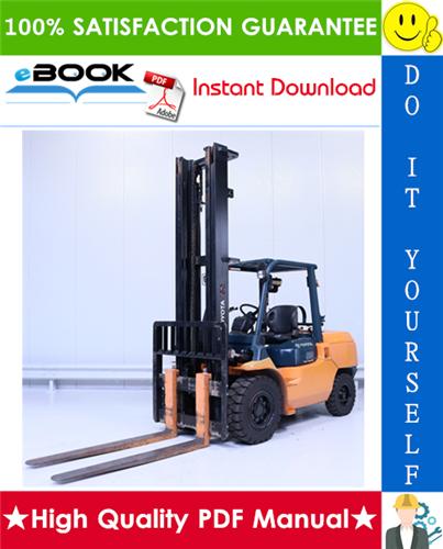 Thumbnail ☆☆ Best ☆☆ Toyota 02-7FG35, 02-7FG40, 02-7FG45, 02-7FGK40, 02-7FGA50 Forklift Trucks Parts Manual
