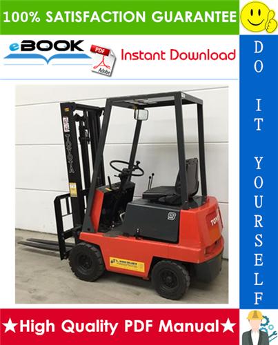 Thumbnail ☆☆ Best ☆☆ Toyota 2FB7, 2FB9 Forklift Trucks Parts Manual
