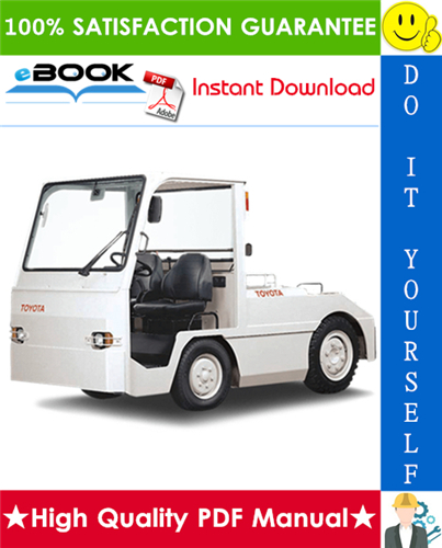 Thumbnail ☆☆ Best ☆☆ Toyota Electric Powered Towing Tractor 2TE15, 2TE18 Service Repair Manual