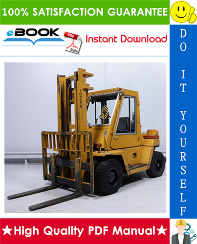 Thumbnail ☆☆ Best ☆☆ Toyota 3FG50, 3FG60, 3FD50, 3FD60 Series Forklift Trucks Service Repair Manual