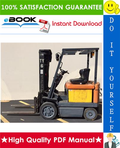 Thumbnail ☆☆ Best ☆☆ Toyota 5FBC13, 5FBC15, 5FBC18, 5FBC20, 5FBCH20, 5FBCH25, 5FBC25, 5FBC28, 5FBC30 Series Forklift Trucks Service Repair Manual