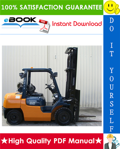 Thumbnail ☆☆ Best ☆☆ Toyota 7FG35, 7FG40, 7FG45, 7FD35, 7FD40, 7FD45, 7FGK40, 7FGA50, 7FDK40, 7FDA50 Series Forklift Trucks Service Repair Manual
