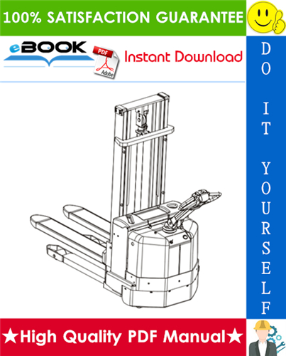Thumbnail ☆☆ Best ☆☆ Toyota Powered Pallet Stacker 7SM10, 7SM12 Spare Parts Catalogue