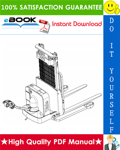 Thumbnail ☆☆ Best ☆☆ Yale MSW20E, MSW25E (A895) Pallet Truck Parts Manual