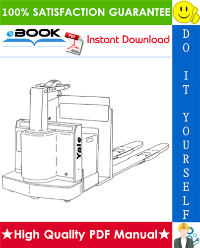 Thumbnail ☆☆ Best ☆☆ Yale MPC060LD, MPC080LD (A899) Pallet Truck Parts Manual