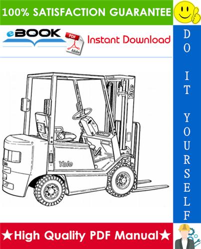 Thumbnail ☆☆ Best ☆☆ Yale GLP16AF, GLP18AF, GLP20AF, GDP16AF, GDP18AF, GDP20AF (B810) Forklift Trucks Parts Manual