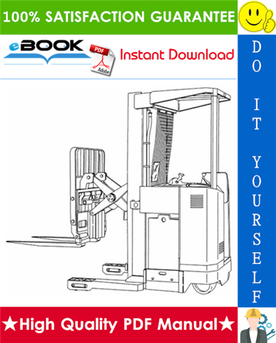 Thumbnail ☆☆ Best ☆☆ Yale NR035BC, NR045BC, NDR030BC (B829) Narrow Aisle Single Reach Lift Trucks Parts Manual