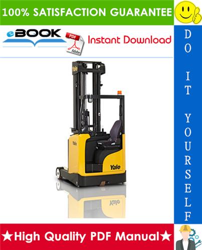 Thumbnail ☆☆ Best ☆☆ Yale MR14, MR16, MR18, MR20 (B849) Sit-on Moving Mast Reach Trucks Parts Manual
