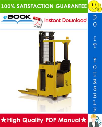 Thumbnail ☆☆ Best ☆☆ Yale MS12S, MS15S (B855) Forklift Trucks Parts Manual