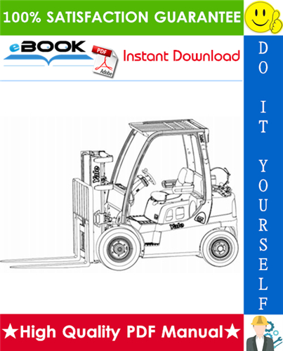 Download Yale Forklift Parts Manual Service Manual Yale F813 M