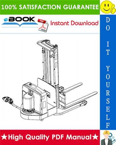 Thumbnail ☆☆ Best ☆☆ Yale MSW 030-E, MSW 040-E (C820) Walkie Straddle Stacker Parts Manual