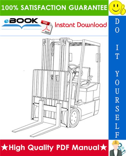 Thumbnail ☆☆ Best ☆☆ Yale ERP030TGN, ERP035TGN, ERP040TGN (E807) Forklift Trucks Parts Manual