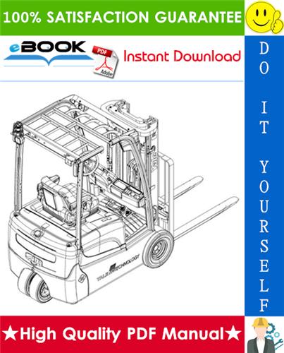 Thumbnail ☆☆ Best ☆☆ Yale ERP15VT, ERP16VT, ERP18VT, ERP20VT (G807) 3-Wheel Electric Pneumatic Tyres Trucks Parts Manual
