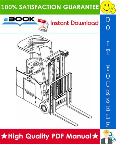 Thumbnail ☆☆ Best ☆☆ Yale ESC030ZA, ESC035ZA, ESC040ZA, ESC050ZA (Z945) Forklift Trucks Parts Manual