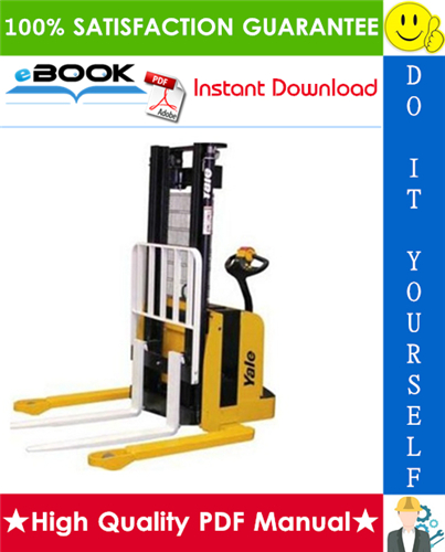 Thumbnail ☆☆ Best ☆☆ Yale MSW020E, MSW025E (A895) Pallet Truck Service Repair Manual