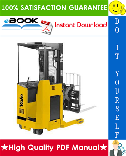 Thumbnail ☆☆ Best ☆☆ Yale NR035AD, NR040AD, NR045AD, NDR030AD, NS040AE, NS050AE Lift Trucks Service Repair Manual