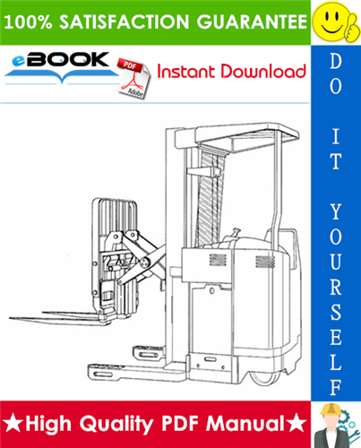 Thumbnail ☆☆ Best ☆☆ Yale NDR030GB NR045GB (B861), NDR030CB NR045CB (D829) Narrow Aisle Reach Truck Service Repair Manual