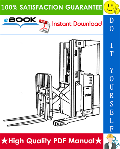 Thumbnail ☆☆ Best ☆☆ Yale NDR030AE NR035AE NR045AE (C815), NS040AF NS050AF (C816) Narrow Aisle Double Reach Lift Trucks Service Repair Manual