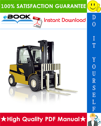 Thumbnail ☆☆ Best ☆☆ Yale GDP80VX, GLP80VX, GDP90VX, GLP90VX, GDP80VX9 Europe, GLP80VX9 Europe (A909) Forklift Trucks Service Repair Manual