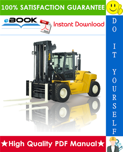 Thumbnail ☆☆ Best ☆☆ Yale GDP80DC, GDP90DC, GDP100DC, GDP100DCS, GDP120DC Europe (E876) Forklift Trucks Service Repair Manual