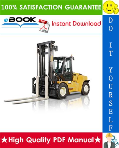 Thumbnail ☆☆ Best ☆☆ Yale GDP300EC, GDP330EC, GDP360EC (E877) Forklift Trucks Service Repair Manual