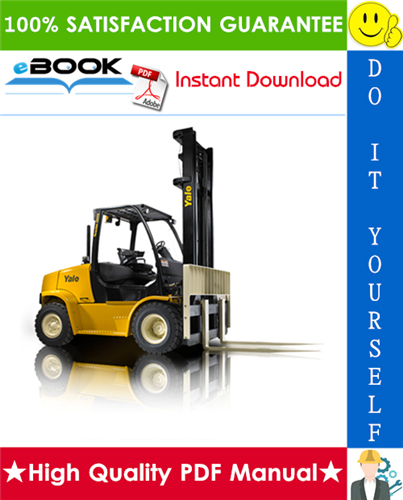Thumbnail ☆☆ Best ☆☆ Yale GP135VX, GLP135VX, GDP135VX, GP155VX, GLP155VX, GDP155VX (E878) Forklift Trucks Service Repair Manual