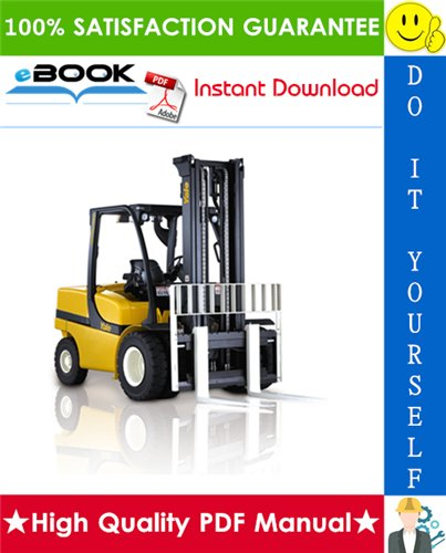 Thumbnail ☆☆ Best ☆☆ Yale GLP40VX5, GDP40VX5, GLP40VX6, GDP40VX6, GLP45SVX5, GDP45SVX5, GLP45VX6, GDP45VX6, GLP50VX, GDP50VX, GLP55VX, GDP55VX Europe (F813) Forklift Trucks Service R