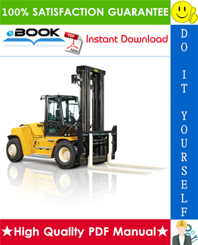 Thumbnail ☆☆ Best ☆☆ Yale GDP80DC, GDP90DC, GDP100DC, GDP100DCS, GDP120DC Europe (F876) Forklift Trucks Service Repair Manual
