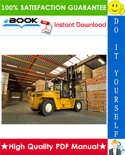 Thumbnail ☆☆ Best ☆☆ Yale GDP190DC, GDP210DC, GDP230DC, GDP230DCS, GDP250DC, GDP280DC (F876) Forklift Trucks Service Repair Manual