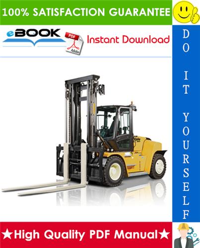 Thumbnail ☆☆ Best ☆☆ Yale GDP300EC, GDP330EC, GDP360EC (F877) Forklift Trucks Service Repair Manual